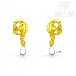 Beautify Gold Casting Earring