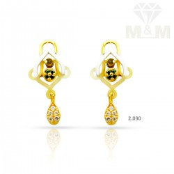 Canny Gold Casting Earring