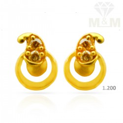 Gallant Gold Casting Earring