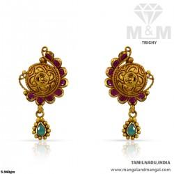 Graceful Gold Women Antique...