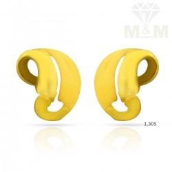 Wondrous Gold Casting Earring