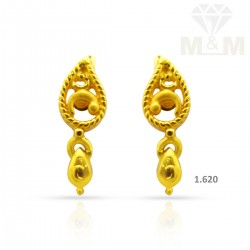 Sweetest Gold Casting Earring
