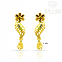 Decent Gold Casting Earring