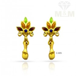 Niceness Gold Casting Earring