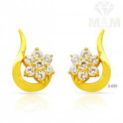 Dandy Gold Casting Earring