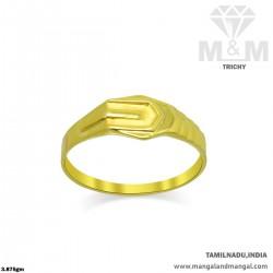 Nifty Gold Men Casting Ring