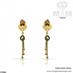 Adorable Gold Women Casting Earring