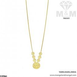 Joyful Gold Fancy Dollar Chain