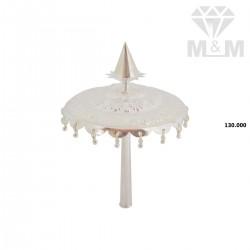 Handsome Silver Fancy Umbrella