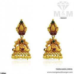 Prettiest Gold Women Antique Earring