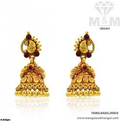 Captivating Gold Women Antique Earring