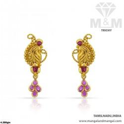 Alluring Gold Women Antique...