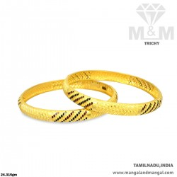 Snazzy Gold Women Fancy Bangle