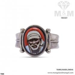 Captivating Silver Sai Baba...