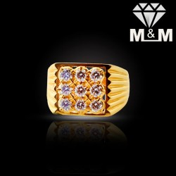 Gorgeous Gold Diamond Fancy...