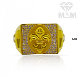 Aesthetic Gold Casting Ring