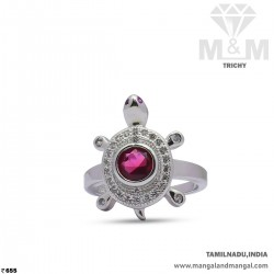 Captivate Silver Turtle Ring