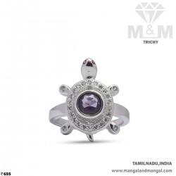 Memorable Silver Turtle Ring