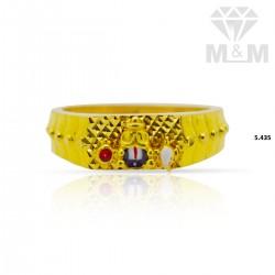 Great Gold Casting Balaji Ring