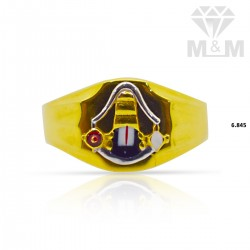 Nifty Gold Casting Balaji Ring