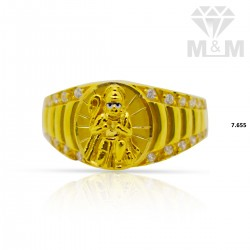 Pleasing Gold Casting Ring