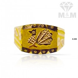 Awesome Gold Fancy Ring