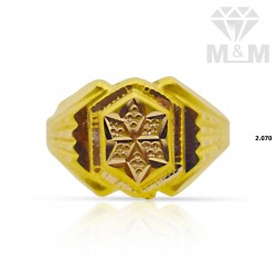 Vibrant Gold Fancy Ring
