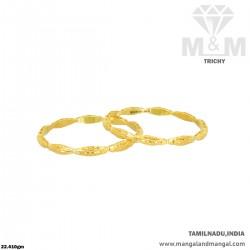 Rustic Gold Women Fancy Bangle