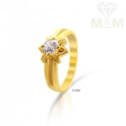 Verdant Gold Casting Ring