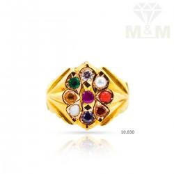 Pretty Gold Navarathina Ring