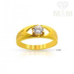 Vivid Gold Casting Ring