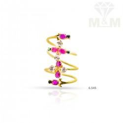 Prettiest Gold Casting Ring
