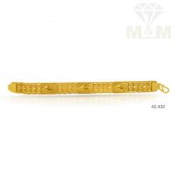 Lambent Gold Casting Bracelet