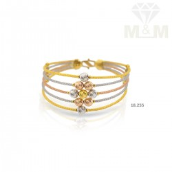 Pretty Gold Fancy Bracelet