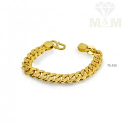 Serene Gold Fancy Bracelet