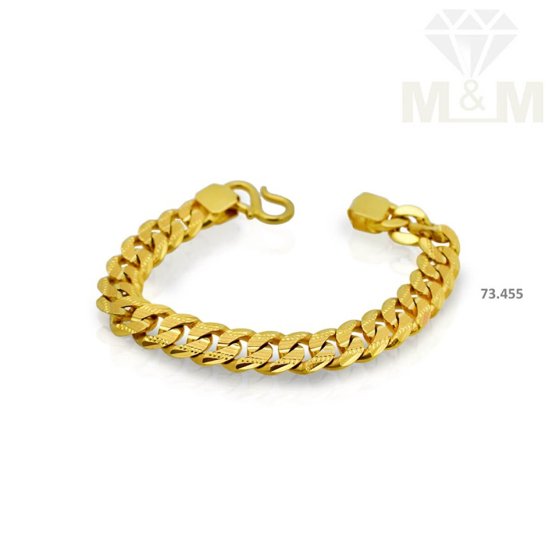 Serene Gold Fancy Bracelet