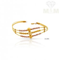 Tranquil Gold Fancy Bracelet