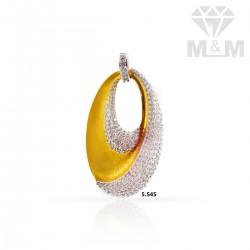 Alluring Gold Casting Pendant