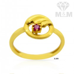 Contemporary Gold Casting Ring