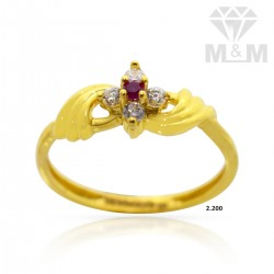 Sculpture Gold Casting Ring