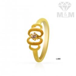 Treasured Gold Casting Ring