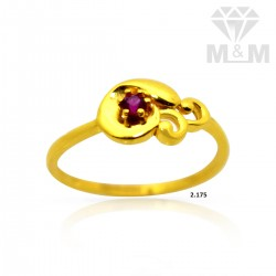 Mythical Gold Casting Ring
