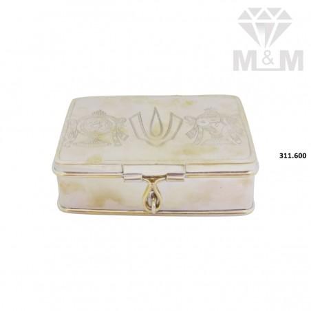 Verdant Silver Fancy Box