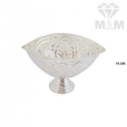 Modern Silver Fancy  Vibuthi Madal