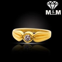 Mannerly Gold Diamond Fancy...