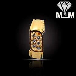 Popular Gold Diamond Fancy...