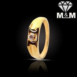 Modern Gold Diamond Fancy Ring