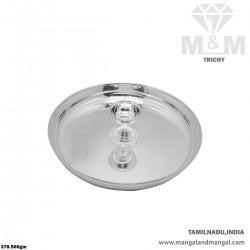 Fabulous Silver Karpoora Plate