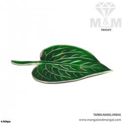 Glamorous Silver Leaf...