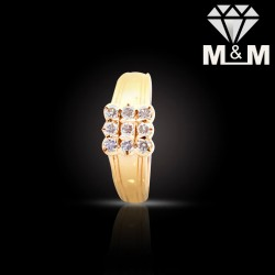 Fabled Gold Diamond Fancy Ring